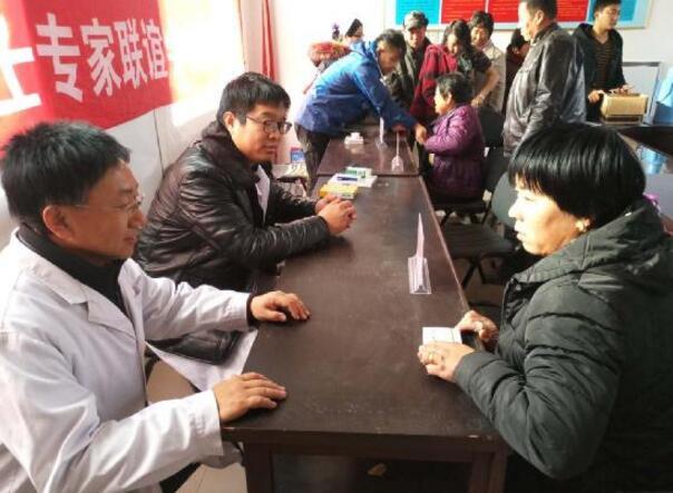 秦皇岛市中医医院开展精准扶贫系列义诊活动